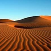 Ubari Sand Sea, Libya Poster