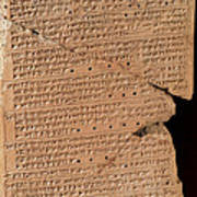 Venus Tablet Of Ammisaduqa, 7th Century Poster