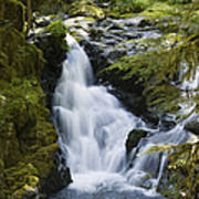 Waterfalls Of Sol Duc River, Olympic Poster