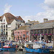 Weymouth Harbour Poster