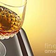 Whiskey In Stem Glass Poster