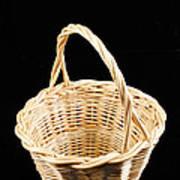 Wicker Basket Poster