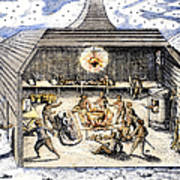 Willem Barents (c1550-1597) Poster