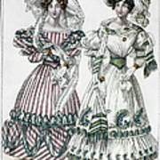 Womens Fashion, 1828 Poster