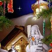 Wonderful Christmas Still Life Poster