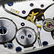 Wrist Watch Interior Poster by Pasieka