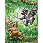 20 - Jennings State Forest - Sword Play Poster