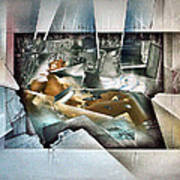 #20 Reclining Nude Poster
