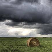 Storm Clouds Saskatchewan Poster