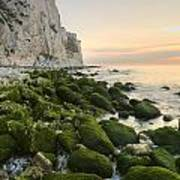 Sunrise At The White Cliffs Of Dover Poster