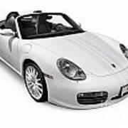 2008 Porsche Boxster S Sports Car Poster