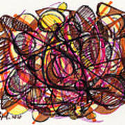 2010 Abstract Drawing 24 Poster