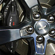 2011 Chevrolet Camaro Wheel Poster