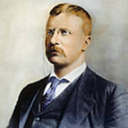 Theodore Roosevelt Poster