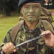 A British Army Gurkha Poster