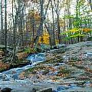 Big Hunting Creek Upstream From Cunningham Falls Poster