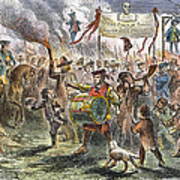 Boston: Stamp Act Riot, 1765 Poster