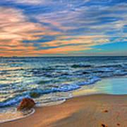 Burns Beach Wa Poster by Imagevixen Photography