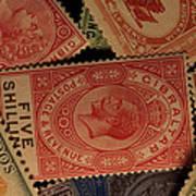 Closeup Of Classic British Empire Poster
