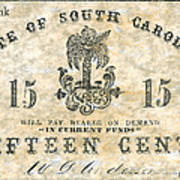 Confederate Currency Poster