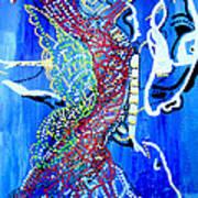 Dinka Angel Bride - South Sudan Poster