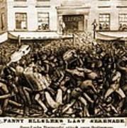 Fanny Elssler 1810-1884, Austrian Poster by Everett