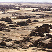 Giant Sandstone Outcroppings Deep Poster