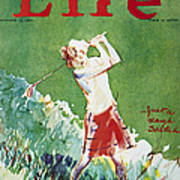Golfing: Magazine Cover Poster