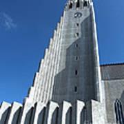 Hallgrimskirkja Church - Reykjavik Iceland  Poster