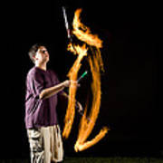 Juggling Fire Poster