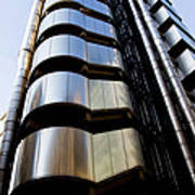 Lloyds Building Central London  Poster