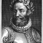 Luiz Vaz De Camoes (1524-1580) Poster