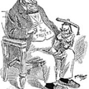 Mckinley Cartoon, 1900 Poster