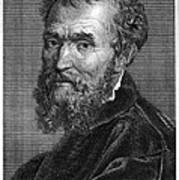 Michelangelo (1475-1564) Poster by Granger