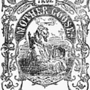 Mother Goose, 1833 Poster