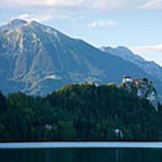 Mountain Backdrop Poster
