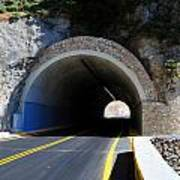 Mountain Tunnel. Poster