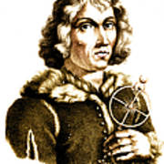 Nicolaus Copernicus, Polish Astronomer Poster