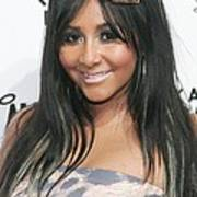 Nicole Snooki Polizzi At Arrivals Poster by Everett