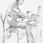 Sergei Rachmaninoff Poster