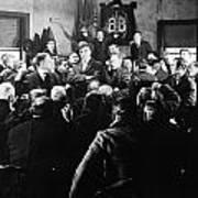 Silent Still: Group Of Men Poster