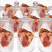 Spare Hearts Poster by Victor De Schwanberg