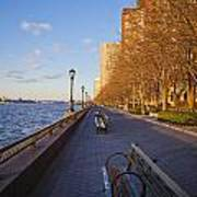 View From Battery Park City Poster