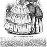 Womens Fashion, 1851 Poster by Granger