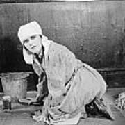 Silent Film Still: Woman Poster