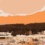 Norway  Landscape Poster