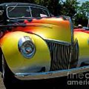 39 Ford Deluxe Hot Rod Poster