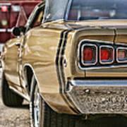 1968 Dodge Coronet Rt Poster