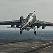 An Ea-6b Prowler Launches Poster