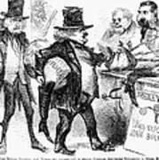 Civil War: Cartoon, 1861 Poster